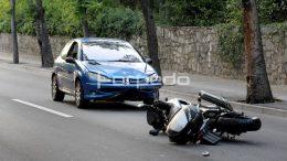 U dvije nesreće dva teško ozlijeđena motociklista