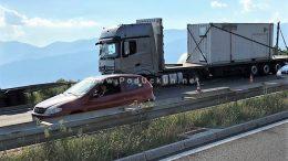 Zbog prometne nesreće zatvorena dionica zaobilaznice između Matulja i čvora Diračje