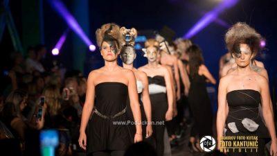 FOTO Avangardna revija frizura i make-upa Zdola neba Kastavskega ponovo oduševila posjetitelje @ Kastav