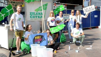 FOTO Poziv na sudjelovanje u Zelenoj čistki – World Cleanup Day-u upućen volonterima diljem Hrvatske @ Rijeka