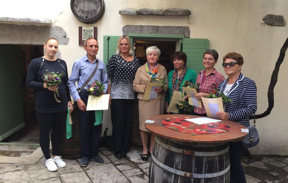 Nagrađene najljepše okućnice i balkoni na području grada Kastva
