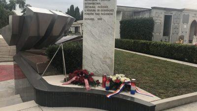 Delegacije Rijeke i Čabra posjetile Gonars – fašistički koncentracijski logor iz Drugog svjetskog rata
