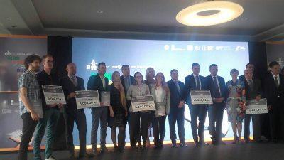Inovacije s riječkog Veleučilišta i Građevinskog fakulteta nagrađene na Natječaju studentskih inovacija Bina-Istre