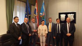 Radna skupina Europskih parlamentaraca u posjeti Primorsko-goranskoj županiji