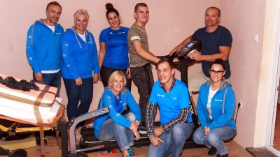 Torpedo runners u humanoj akciji: Eriku Marčeti donirali traku za trčanje