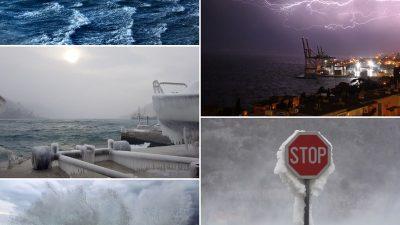 Razorna moć vremenskih neprilika – Izabrani finalisti natječaja za fotografije za knjigu Milana Sijerkovića