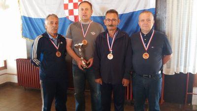 Zapažen uspjeh Streljačkog kluba Policajac – Na Trofeju neovisnosti u Zagrebu Nenad Pintarić osvojio prvo a ekipa SK Policajac drugo mjesto