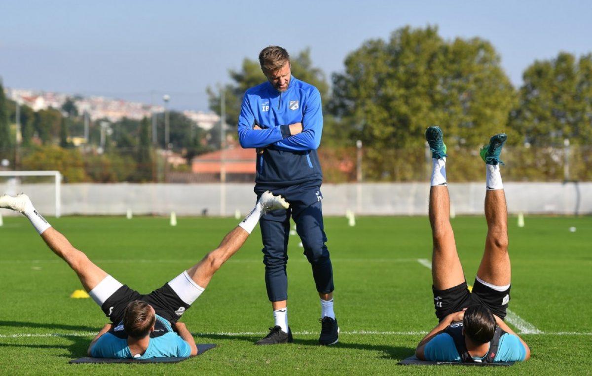 FOTO Igor Bišćan odradio prvi trening na klupi HNK Rijeka