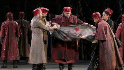 Supružnici u životu i prvi put na sceni: Robert Kolar i Kristina Kolar kao Zrinjski i Eva u slavnoj Zaječevoj operi