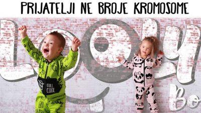 Laura i Kristijan mališani s Down sindromom zvijezde kampanje za brand Looly Boo @ Matulji, Zagreb