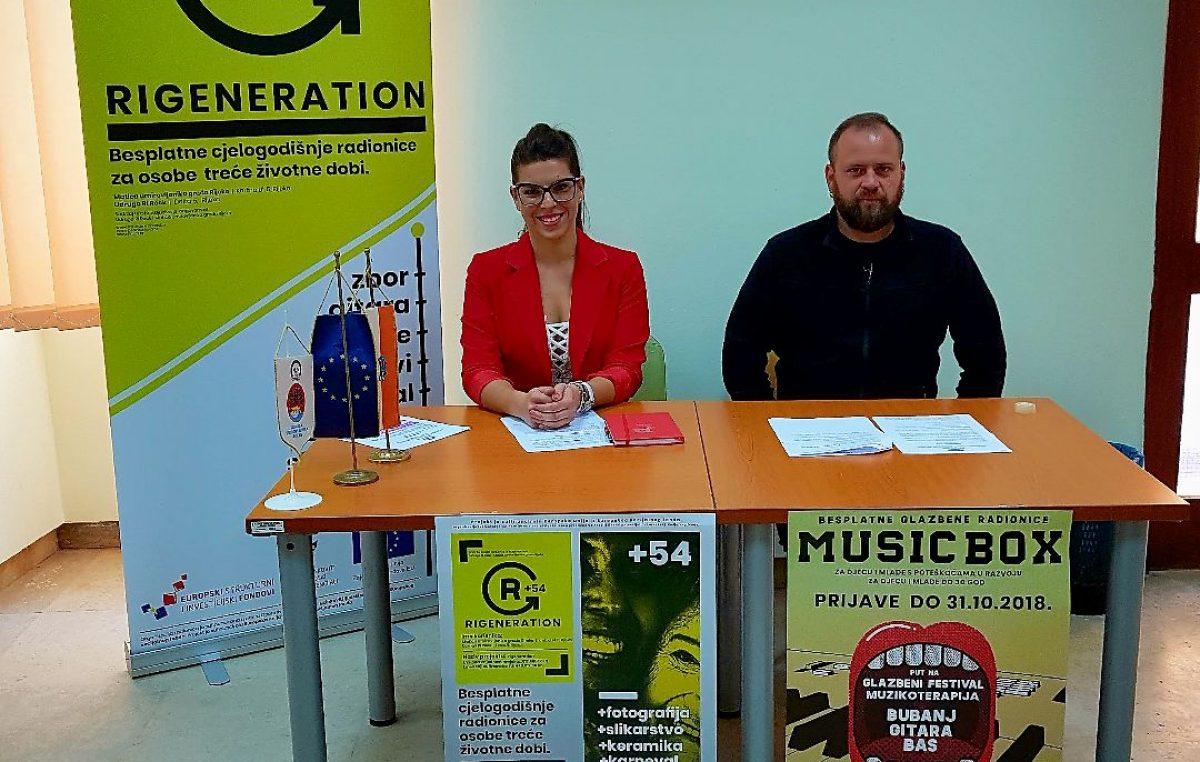 Rock za mlade i starije – Udruga Ri Rock i Matica umirovljenika predstavili dva zanimljiva projekta
