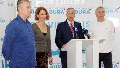 Hrvoje Burić o odnosima u Gradskom vijeću: Lista za Rijeku i HNS su u koaliciji s SDP-om