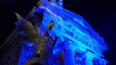 Večeras će Trsatska gradina zasvijetliti u plavoj boji povodom obilježavanja Svjetskog dana šećerne bolesti