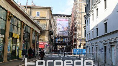 Centar grada u prometnom kolapsu – Adamićeva i dalje zatvorena, zbog snimanja filma promet dodatno preusmjeren