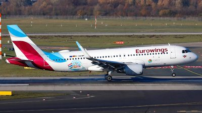 Leteća promocija Kvarnera diljem Europe – Zrakoplov Eurowingsa oblijepljen promo naljepnicama naše regije