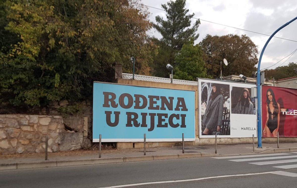 U OKU KAMERE Neobični plakati s natpisom 'Rođena u Rijeci' zaintrigirali građane i izazvali rasprave na društvenim mrežama