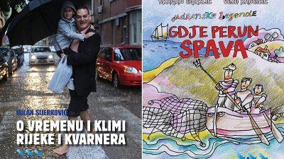 Knjiga Milana Sijerkovića o vremenu Rijeke i Kvarnera te Jadranske legende s ilustracijama Voje Radoičića dostupne u pretprodaji