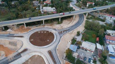 FOTO Projekt za rasterećenje prometa: Pogledajte kako izgleda novi rotor na Kuku snimljen iz zraka
