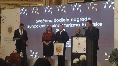 """Dodjela nagrada """"Suncokret ruralnog turizma Hrvatske"""" – Nagrađeno devet projekata sa područja naše županije"""