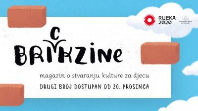 Drugi broj Brickzinea, časopisa o kulturi za djecu predstavit će se danas u RiHubu u 12 sati