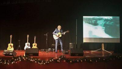 """Damir Halilić Hal predstavio izniman audio-vizualni program """"Moć gitare"""" @ Kostrena"""
