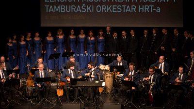 """FOTO: Svečanim koncertom Klape Kastav i Tamburaškog orkestra HRT-a predstavljen zajednički """"live"""" album"""