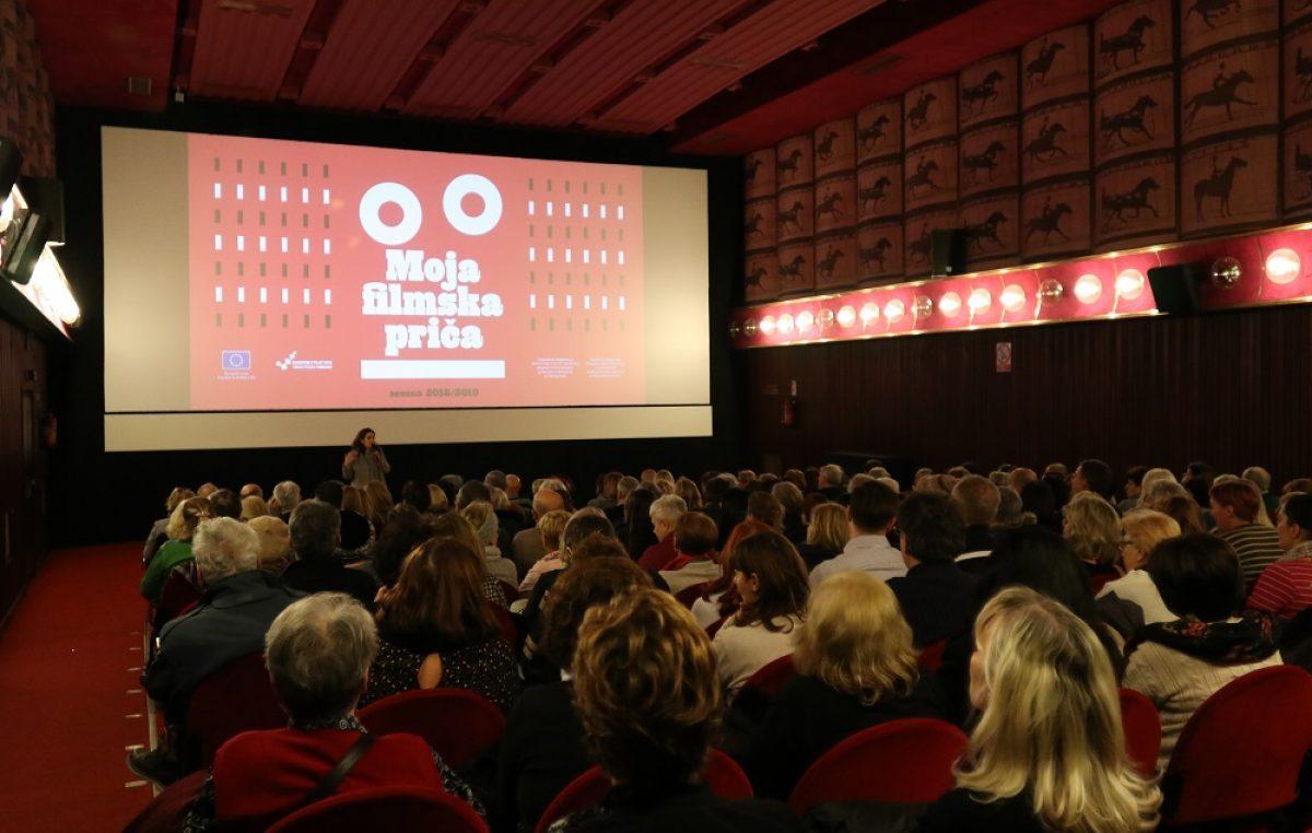 Veliki uspjeh Moje filmske priče: Navala novih članova u Filmski klub 54+