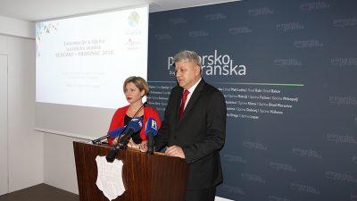 Press konferencija župana Komadine i direktorice TZ Kvarnera Irene Peršić Živadinov – Iza nas je rekordna turistička sezona na Kvarneru