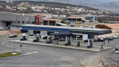 Otvorena benzinska crpka tvrtke Rijeka trans vrijedna 15,5 milijuna kuna @ Kukuljanovo