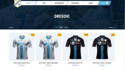 Akcija u web shopu HNK Rijeka – Do utakmice s Goricom traje ponuda 1+1 za dresove
