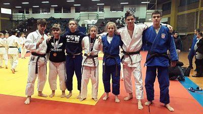 """Lara Šušnić, Ira Bradić i Luka Viljušić okitili se medaljama na međunarodnom judo turniru """"Zagreb Open"""""""