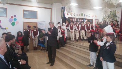 Župan Komadina sa suradnicima posjetio obnovljenu Osnovnu školu u Novom Vinodolskom