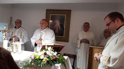 Povodom obilježavanja Svjetskog dana bolesnika Nadbiskup Devčić predvodio je misu u kapelici Psihijatrijske bolnice Lopača