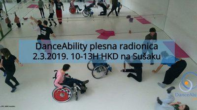 Istražite vlastiti kreativni pokret na DanceAbility inkluzivnoj radionici plesa i pokreta