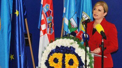 """Predsjednica RH Kolinda Grabar – Kitarović otvorila je međunarodnu konferenciju """"Brendiranje kulture"""""""