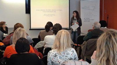 """Druga u nizu radionica """"Riječka industrijska baština – Edukacija za djelatnike u turizmu"""" održana je jučer na Kampusu"""