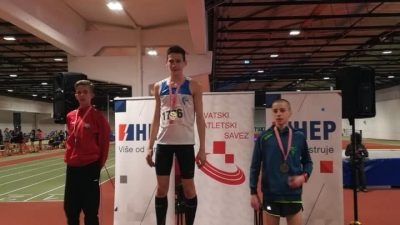 Uspješan nastup atletičara AK Kvarner na državnom prvenstvu za mlađe juniore – Vuletić prvak, Ban viceprvak Hrvatske