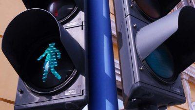 U OKU KAMERE Kraj Palače Modello zasvijetlio prvi 'ženski' semafor u Hrvatskoj