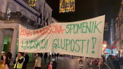 Eko stožer Marišćina objasnio prosvjed na Riječkom karnevalu – Želimo potaknuti rješavanje problema