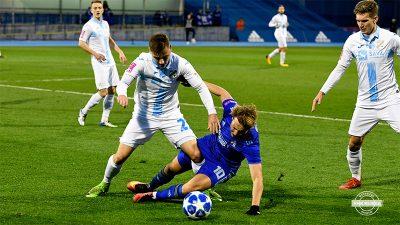 Denis Bušnja, mladi igrač Rijeke u Maksimiru je odigrao vrlo dobru utakmicu