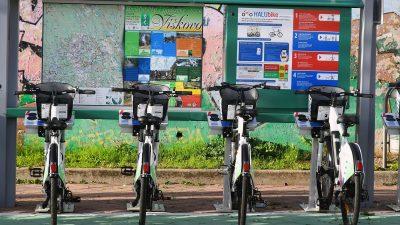 Halubjem na dva kotača: Viškovo je dobilo HALUbike, prvi javni servis za prijevoz biciklima