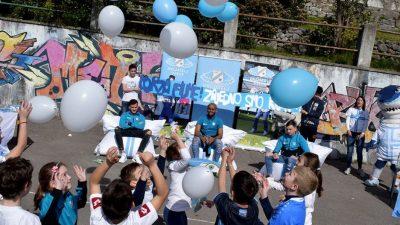 VIDEO 'Srce cijele škole kuca za bijeli dres': Nogometaši HNK Rijeka posjetili Osnovnu školu San Nicolo