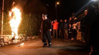 Kastav se oprašta od maškara – Prvi Pustu sude vrtićari, a u večernjim satima pusni odbori
