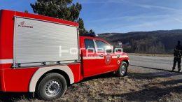 FOTO Kanader pomaže vatrogascima