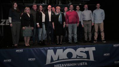 MOST predstavio listu za europske izbore – Riječanka Ines Strenja na visokom četvrtom mjestu