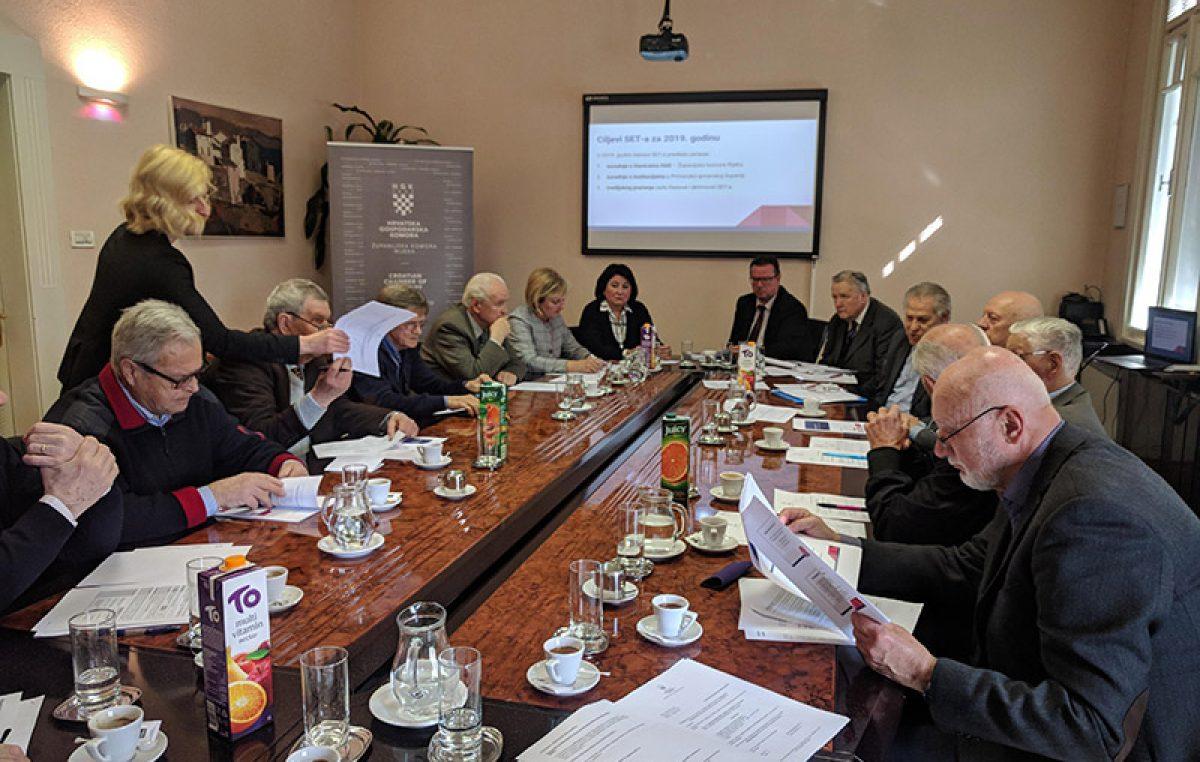 Svečanom sjednicom obilježena petogodišnjica osnivanja Seniorskog ekspertnog tima HGK – Županijske komore Rijeka