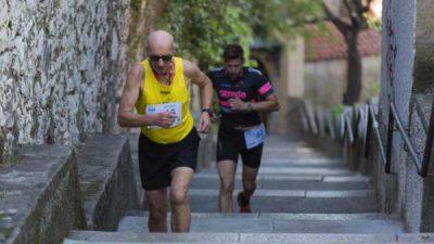 Utrka 539 skok po Trsatskim stubama – Barbara Belušić i Alen Matovina najbrži