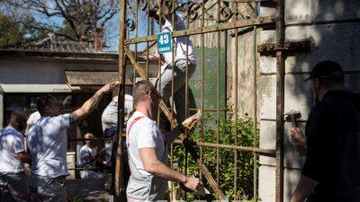 KN Armada Rijeka počeo s uređenjem dijela lokaliteta Dječje bolnice Kantrida