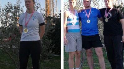 Zimsko bacačko prvenstvo iznimno uspješno za AK Kvarner: Ira Čekada i Toni Gržić postali državni prvaci