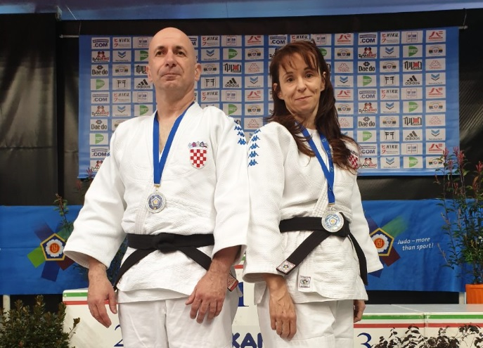 2. Europski kup u judo katama – Sandra Uršičić i Zoran Grba osvojili srebro